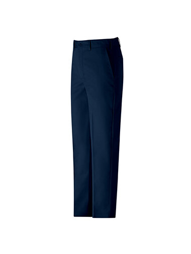 Navy Blue Snap Button Pants